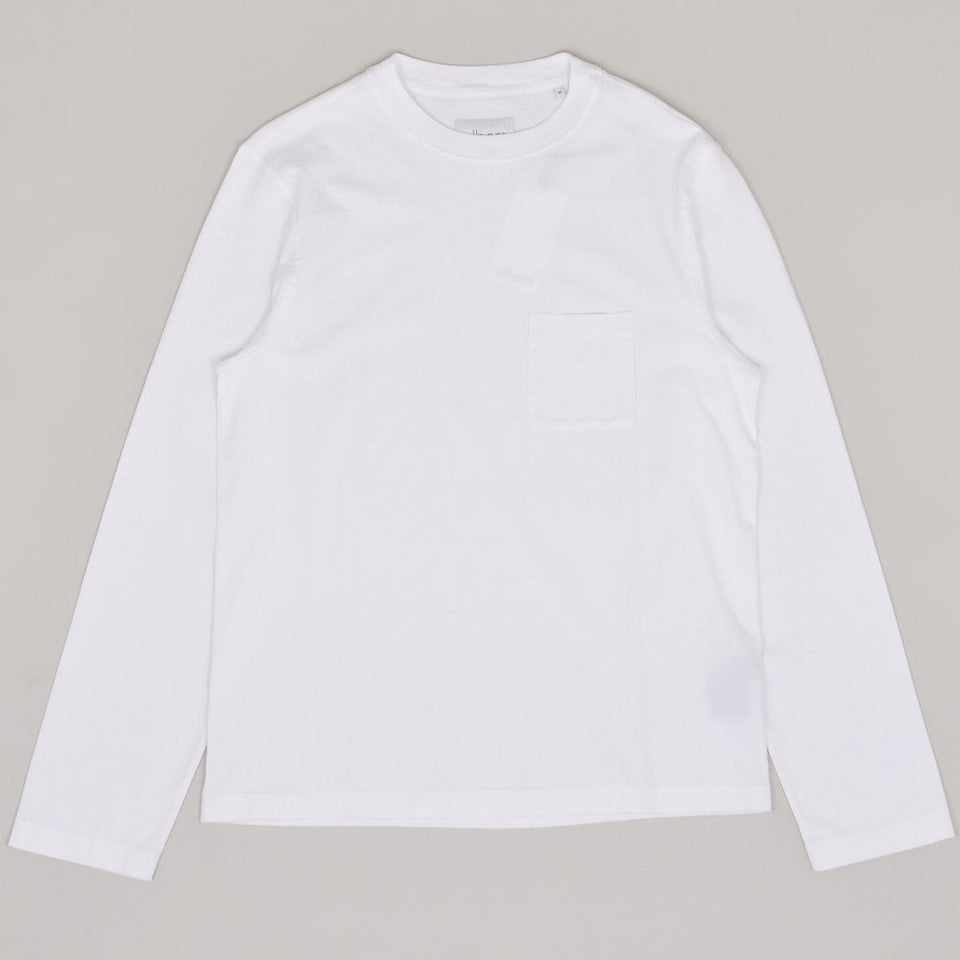 Albam Workwear LS Tee - White