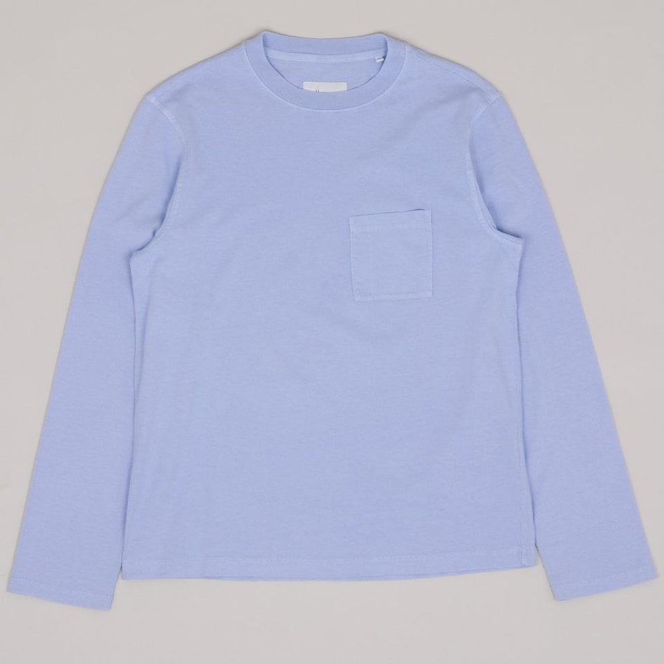 Albam Workwear LS Tee - Light Blue
