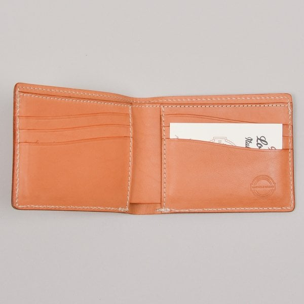 Barnes and Moore Longshore Wallet - Natural