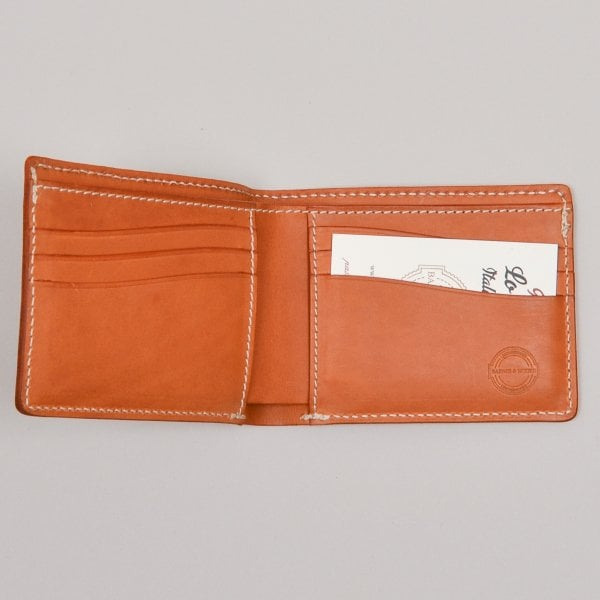Barnes and Moore Longshore Wallet - Harness Tan