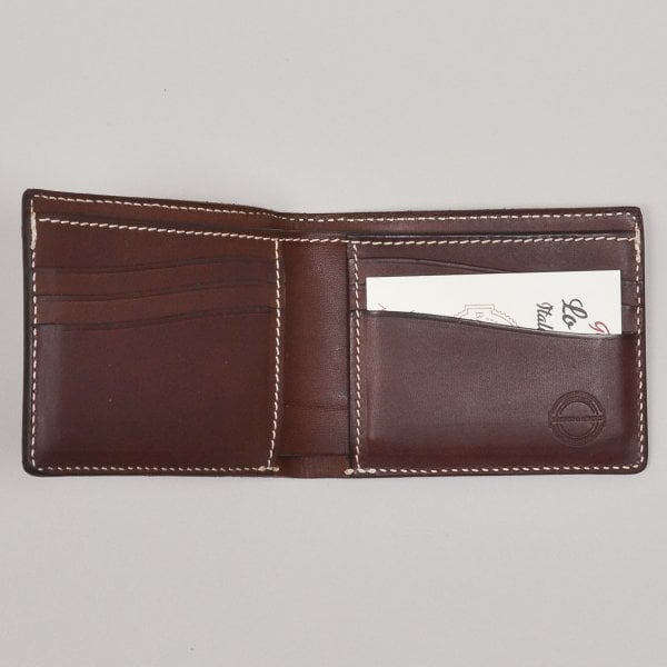 Barnes and Moore Longshore Wallet - Deep Honey