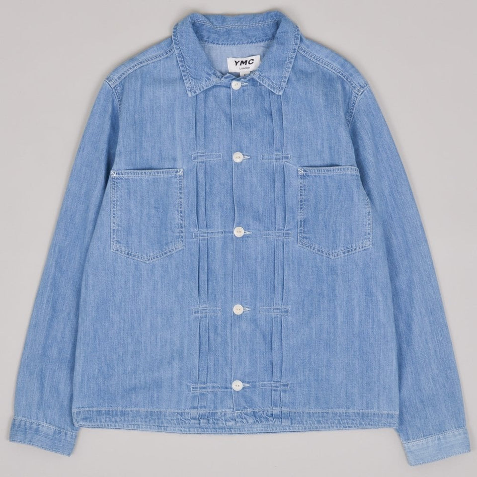 YMC Kit Shirt - Indigo Bleach