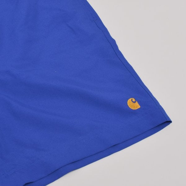Carhartt WIP Chase Swim Trunks - Submarine / Gold