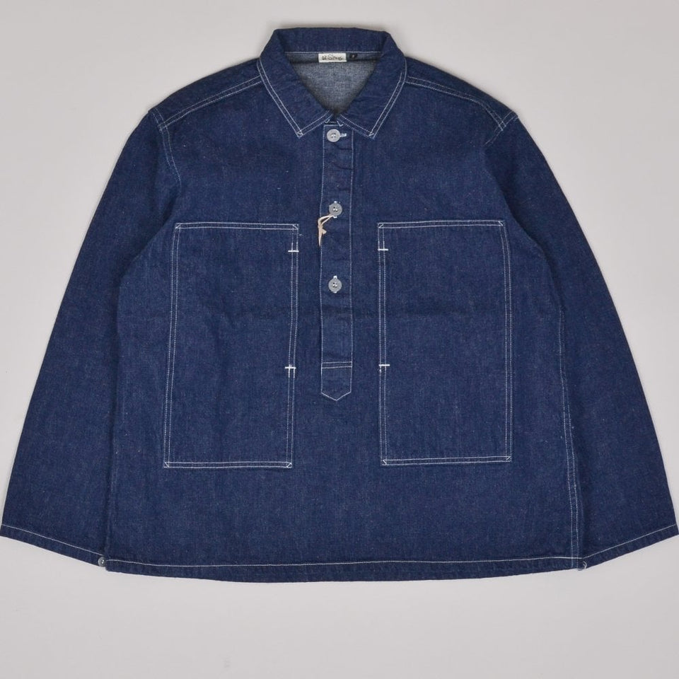 Orslow Pullover Shirt Jacket - One wash
