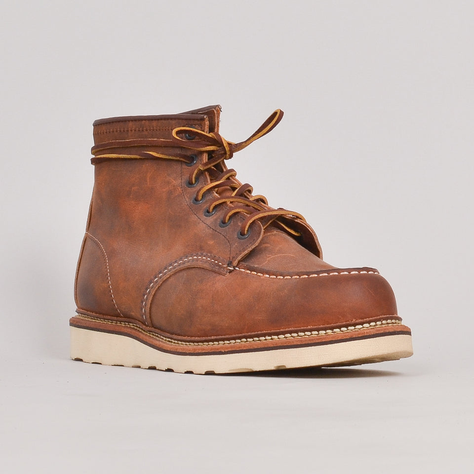 "Red Wing 1907 6"" Moc Toe - Copper Rough & Tough"""