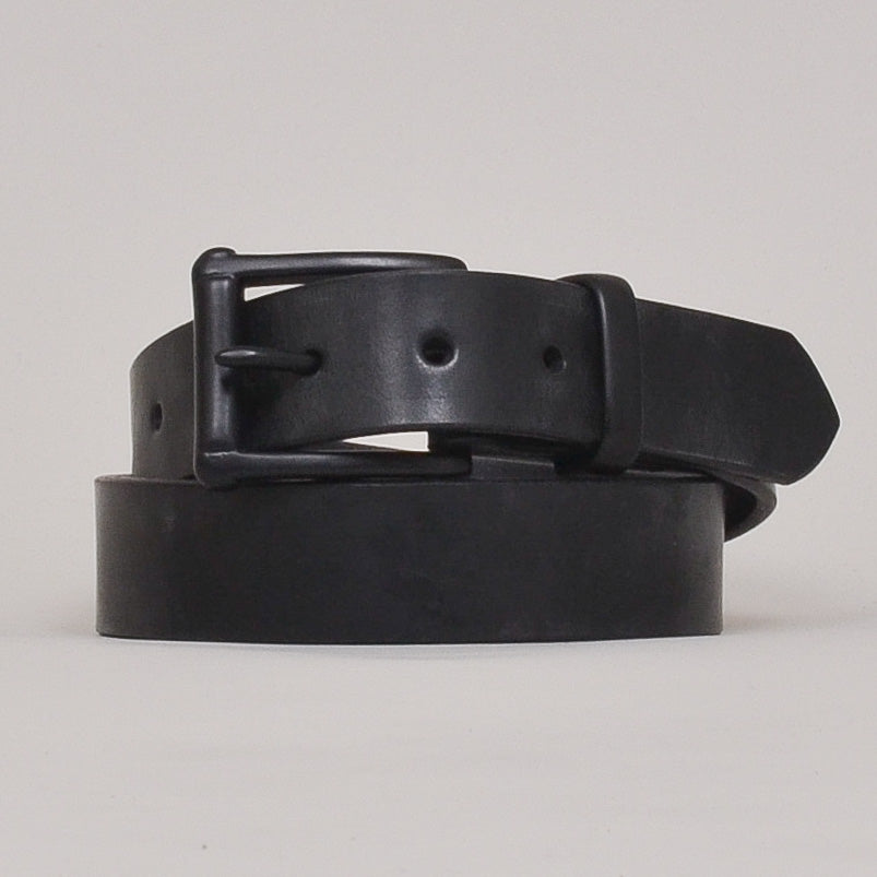 Barnes & Moore Garrison English Leather Belt - Black/Black