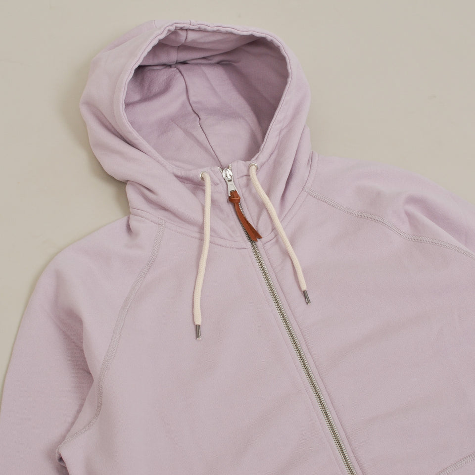 Albam Archive Zip Hoody- Dried Pink