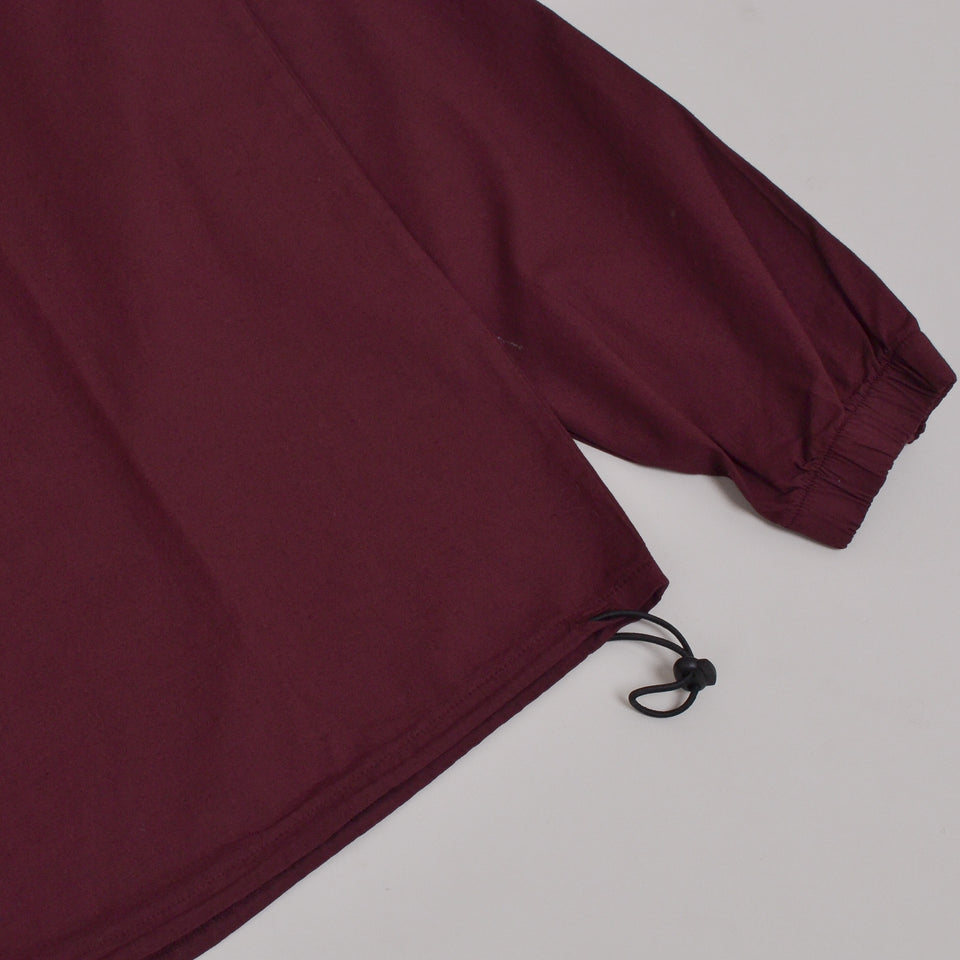 Kestin Creiff Sweat Zip Up Windbreaker - Burgundy