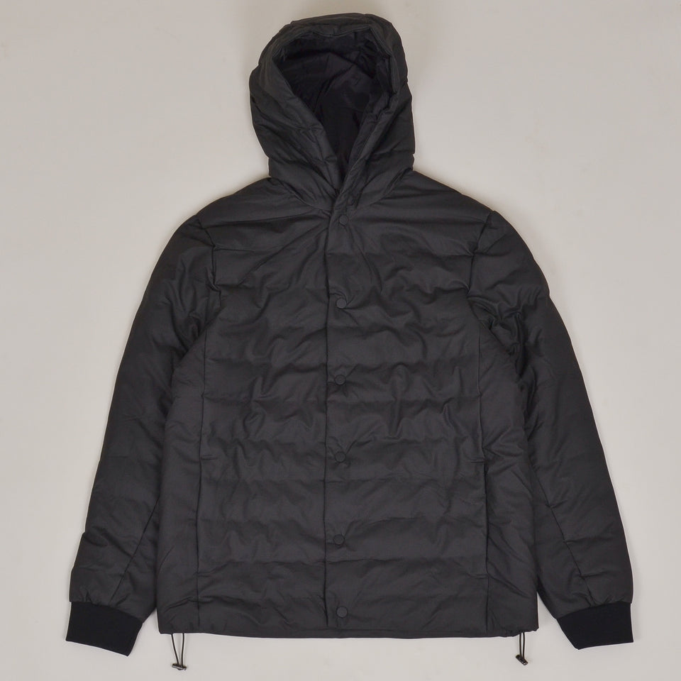 Rains Trekker Hooded Jacket - Black
