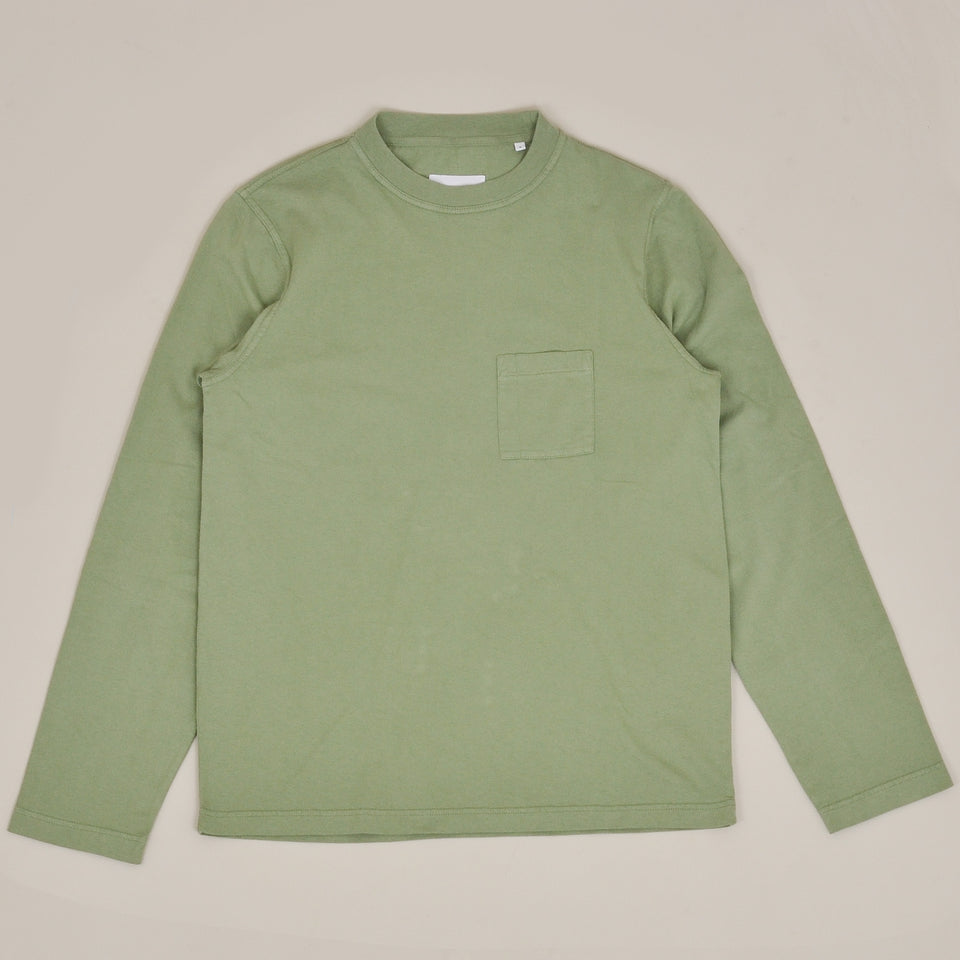 Albam Workwear LS T-Shirt - Oil Green