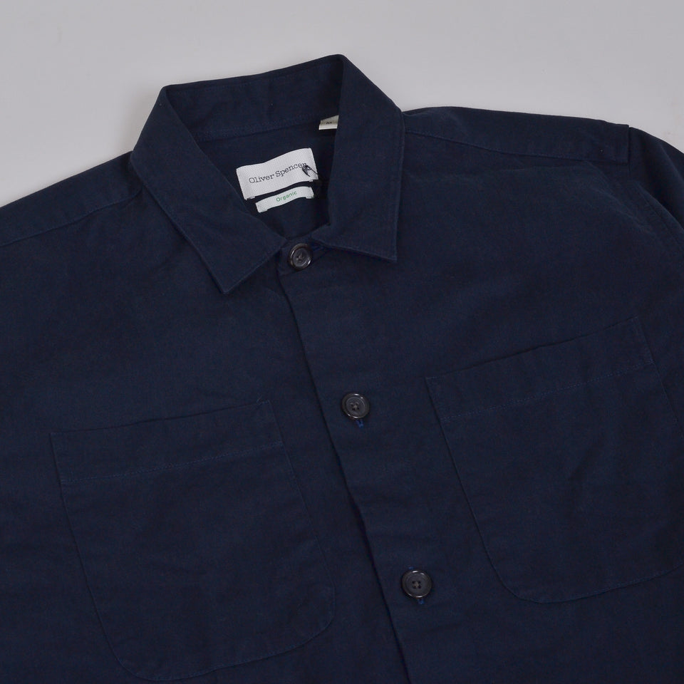 Oliver Spencer Eltham Shirt - Eden Navy
