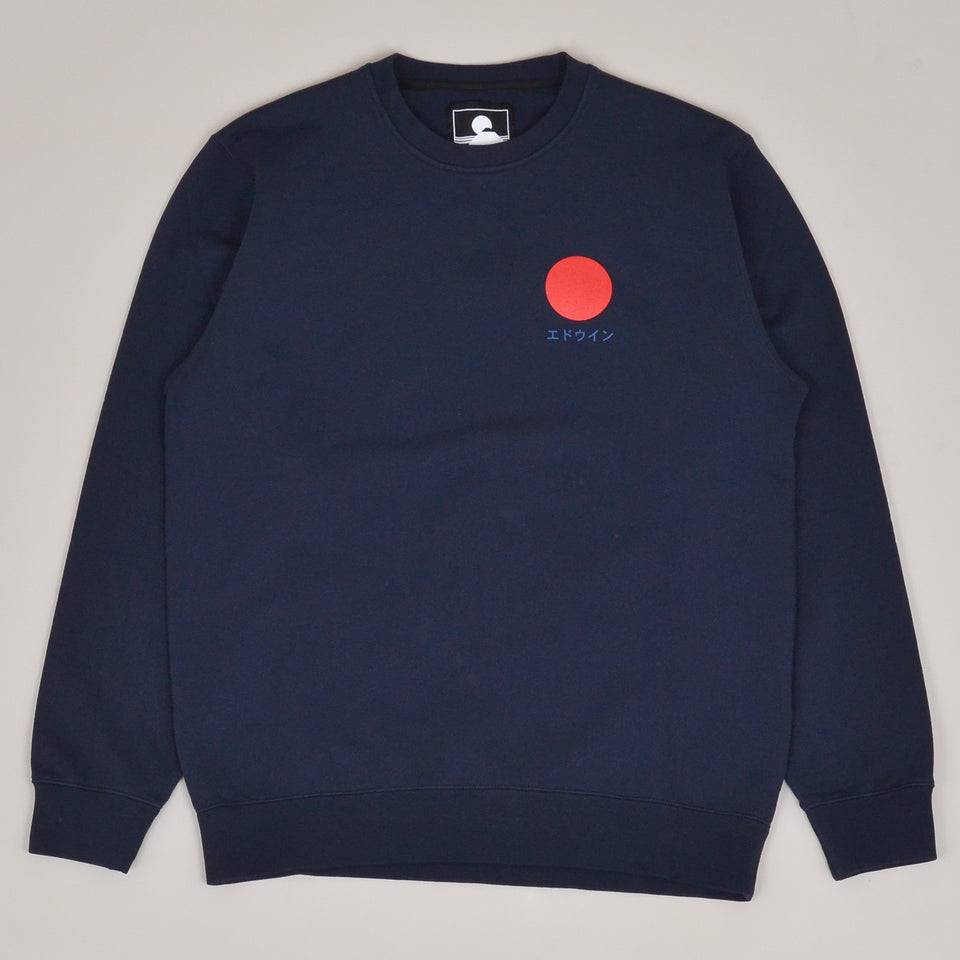 Edwin Japanese Sun Sweat - Navy Blazer