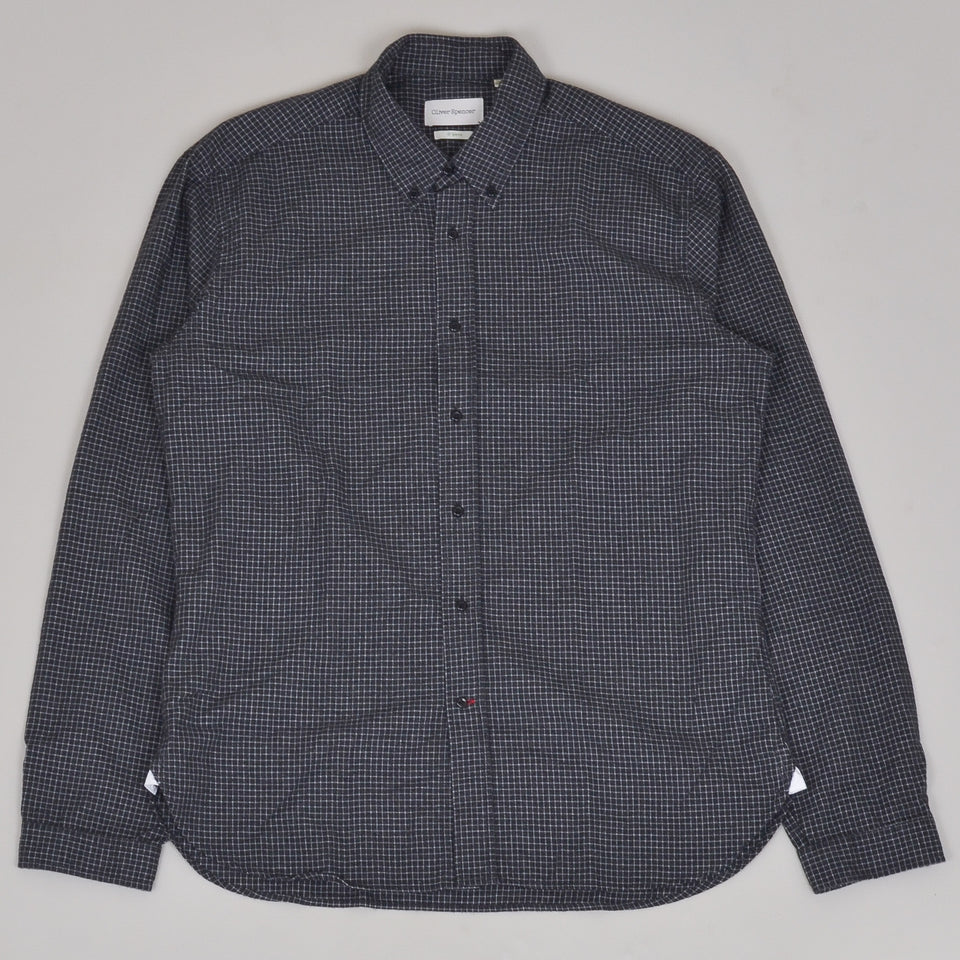 Oliver Spencer Brook Shirt - Chester Grey