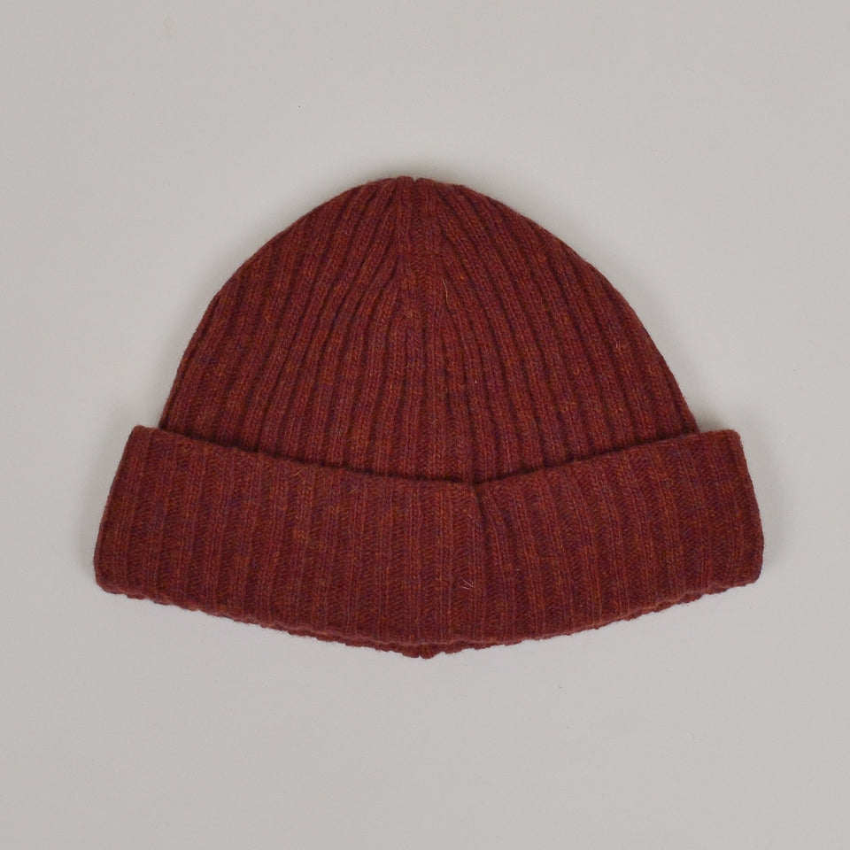 Oliver Spencer Dock Hat - Rib Rust