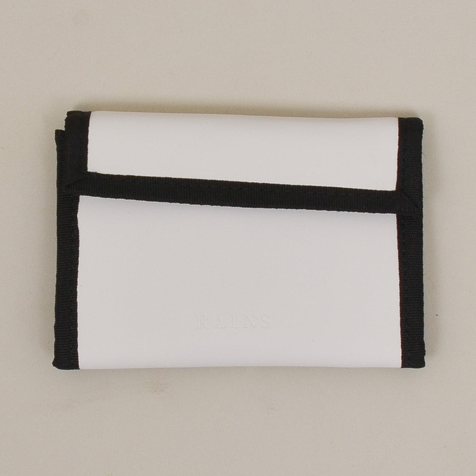 Rains Velcro Wallet - Off White