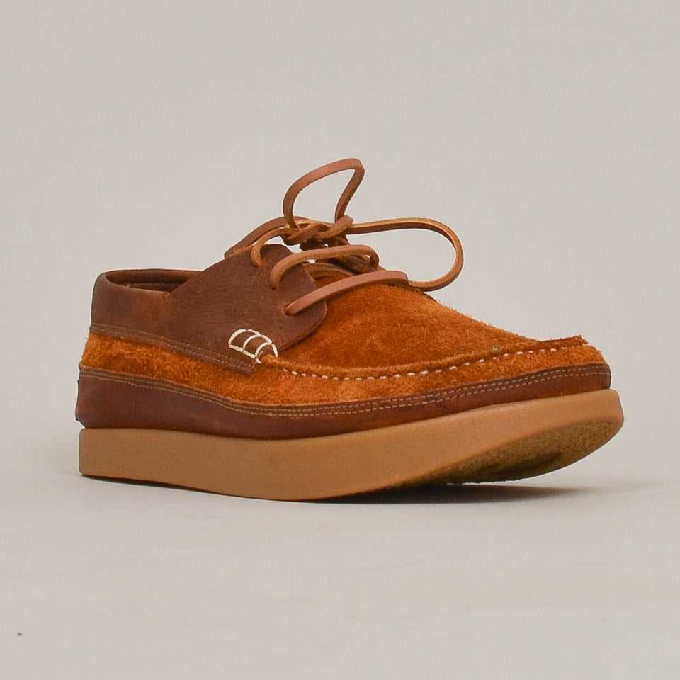 Yogi Logan Tumbled Leather Reverse - Chestnut Brown