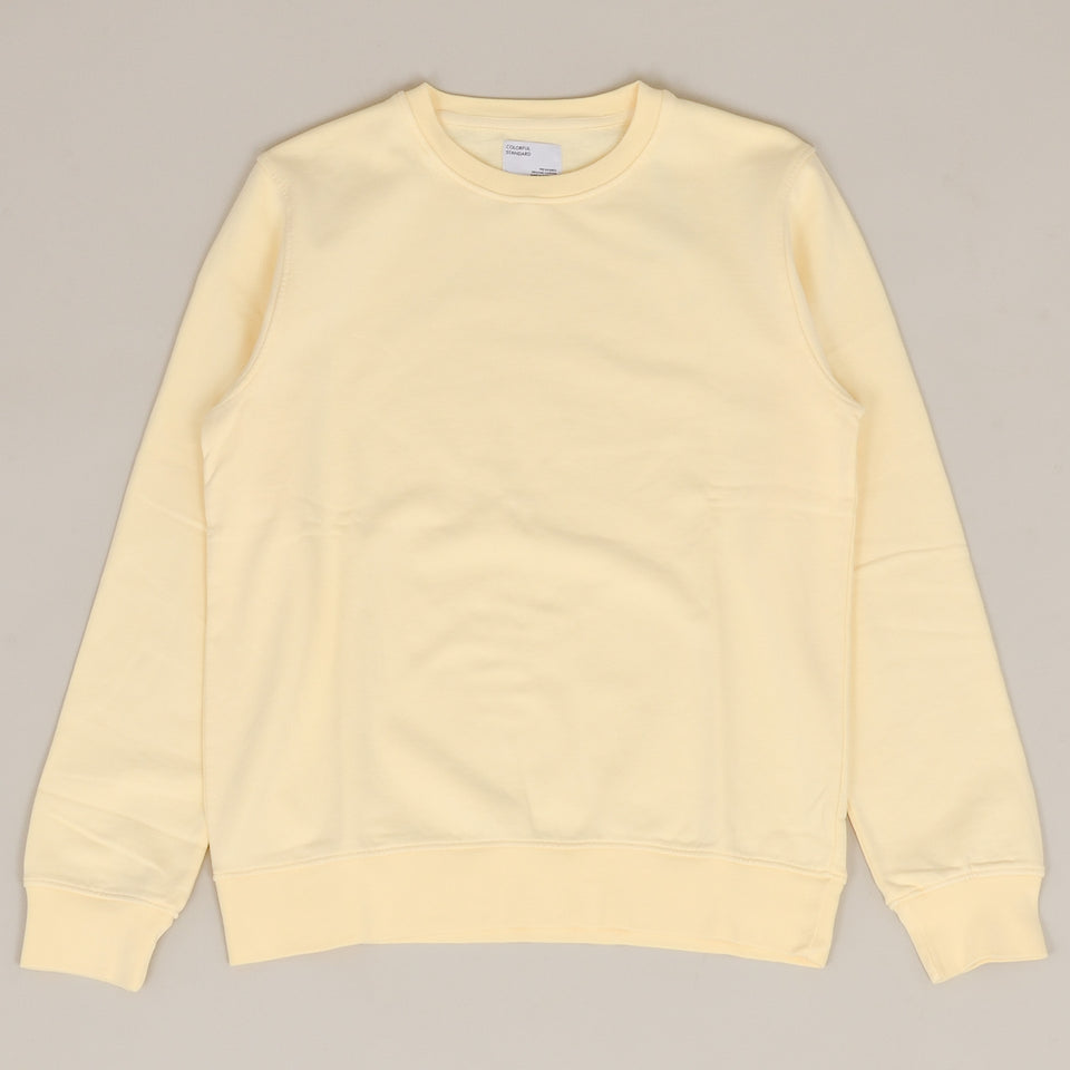 Colorful Standard Classic Organic Crew - Soft Yellow
