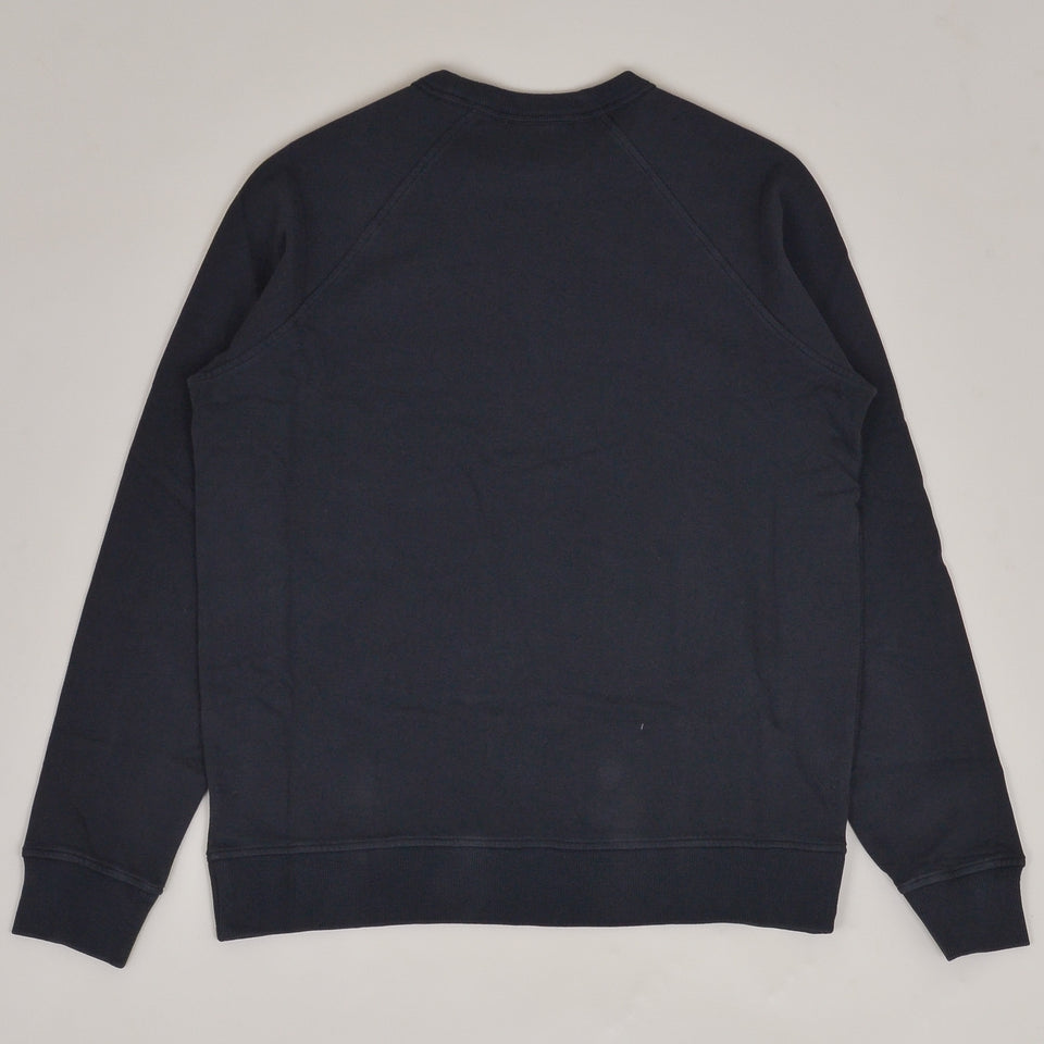 YMC Schrank Cotton Loopback Raglan Sweatshirt - Black