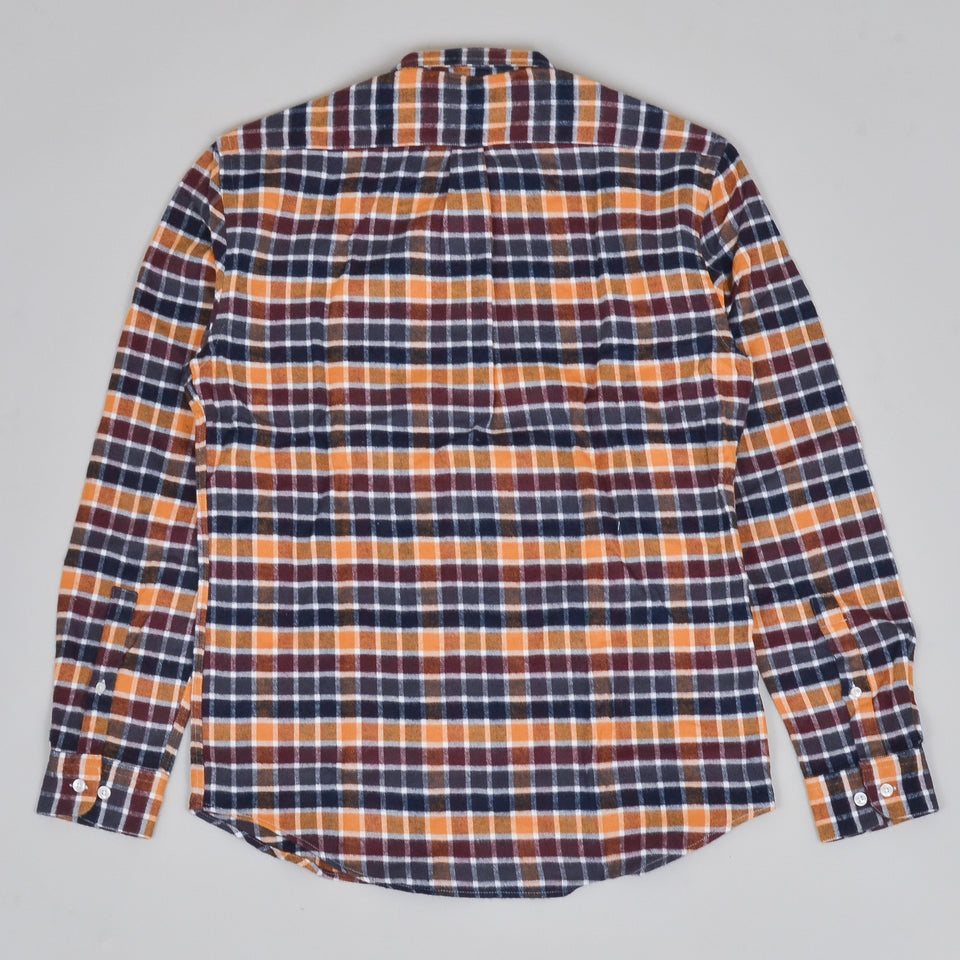 Portuguese Flannel Autumn Shades Shirt - Check