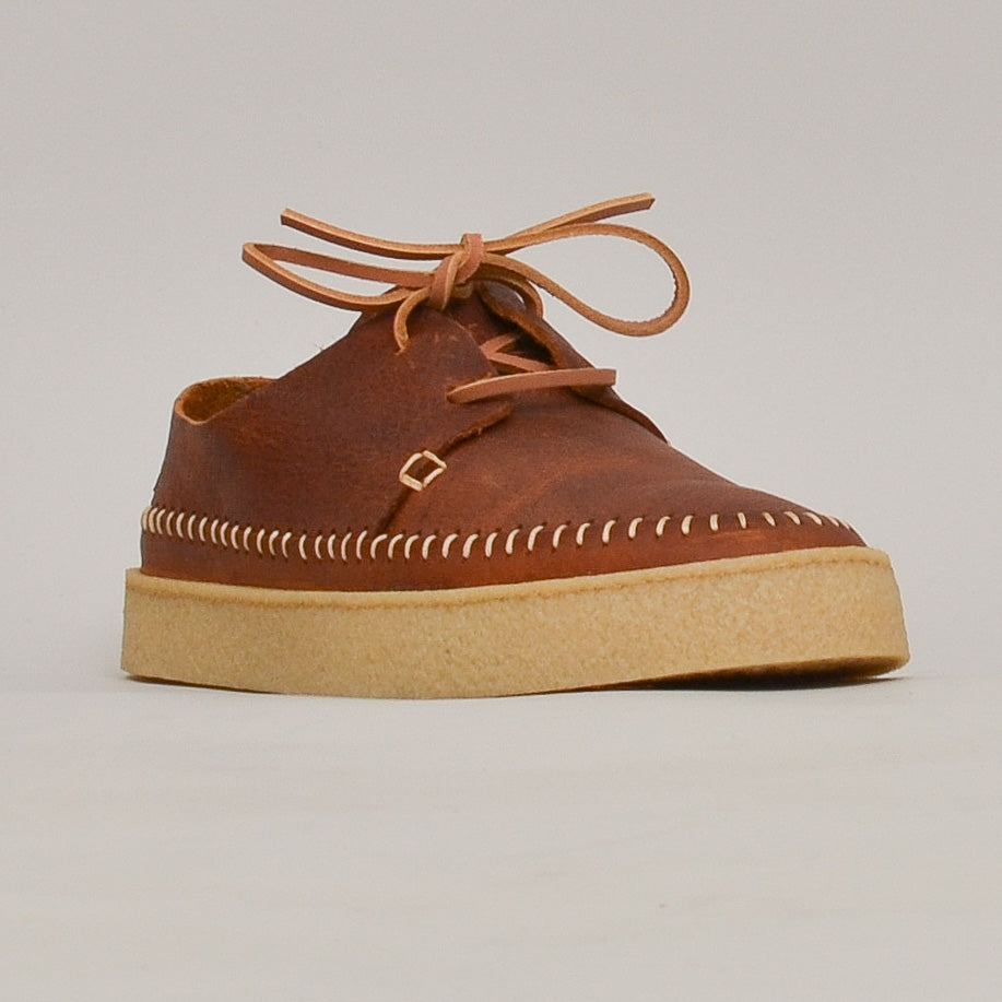 Yogi Hitch Leather Shoe - Chestnut Brown