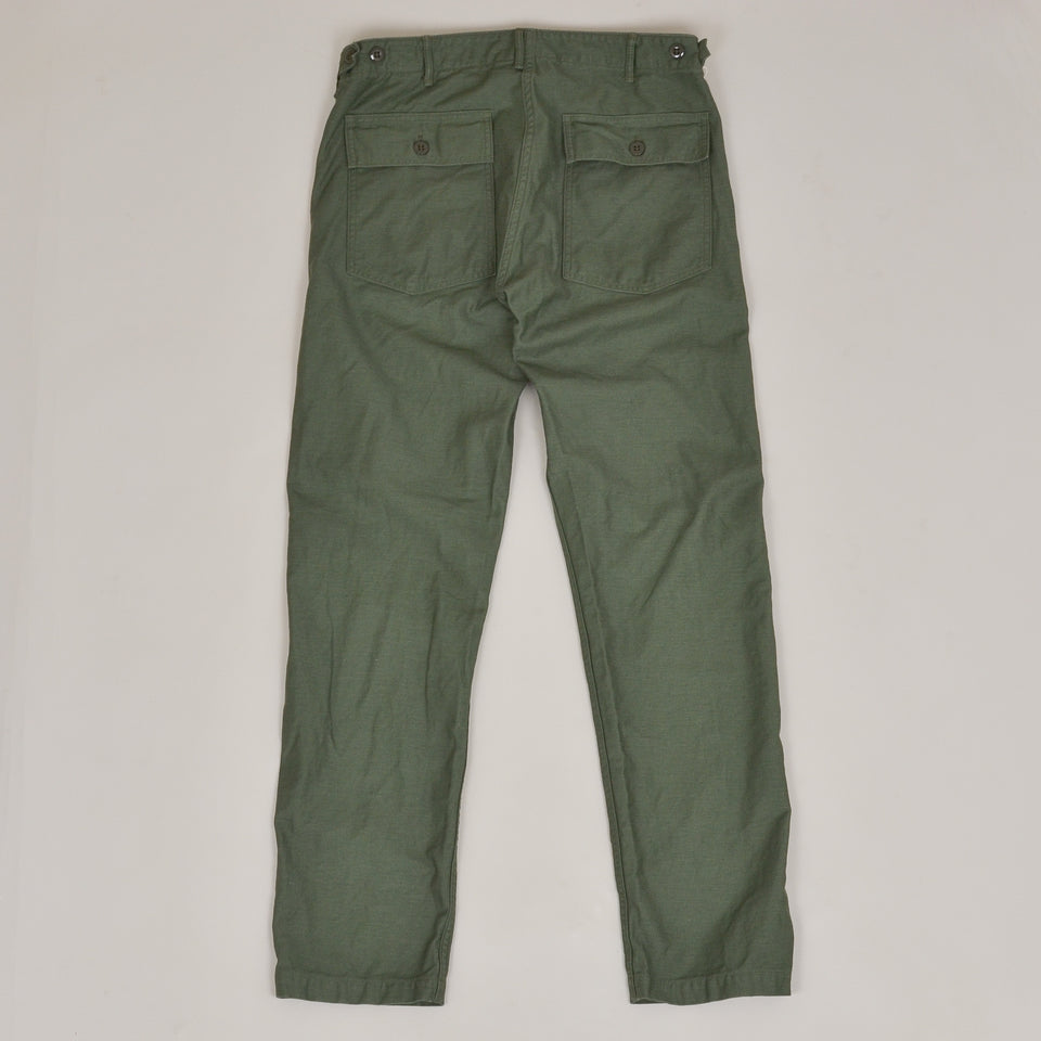 OrSlow US Army Slim Fit Fatigue Pants - Green