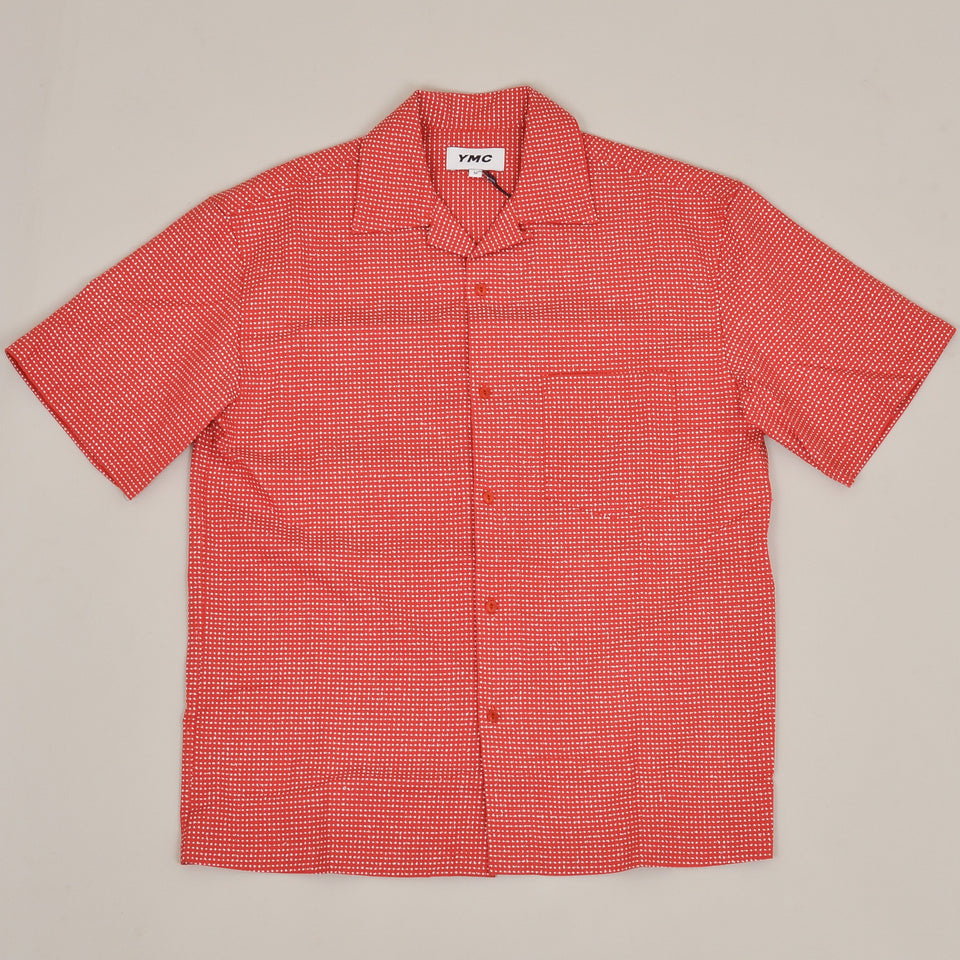 YMC Mitchum S/S Shirt - Red