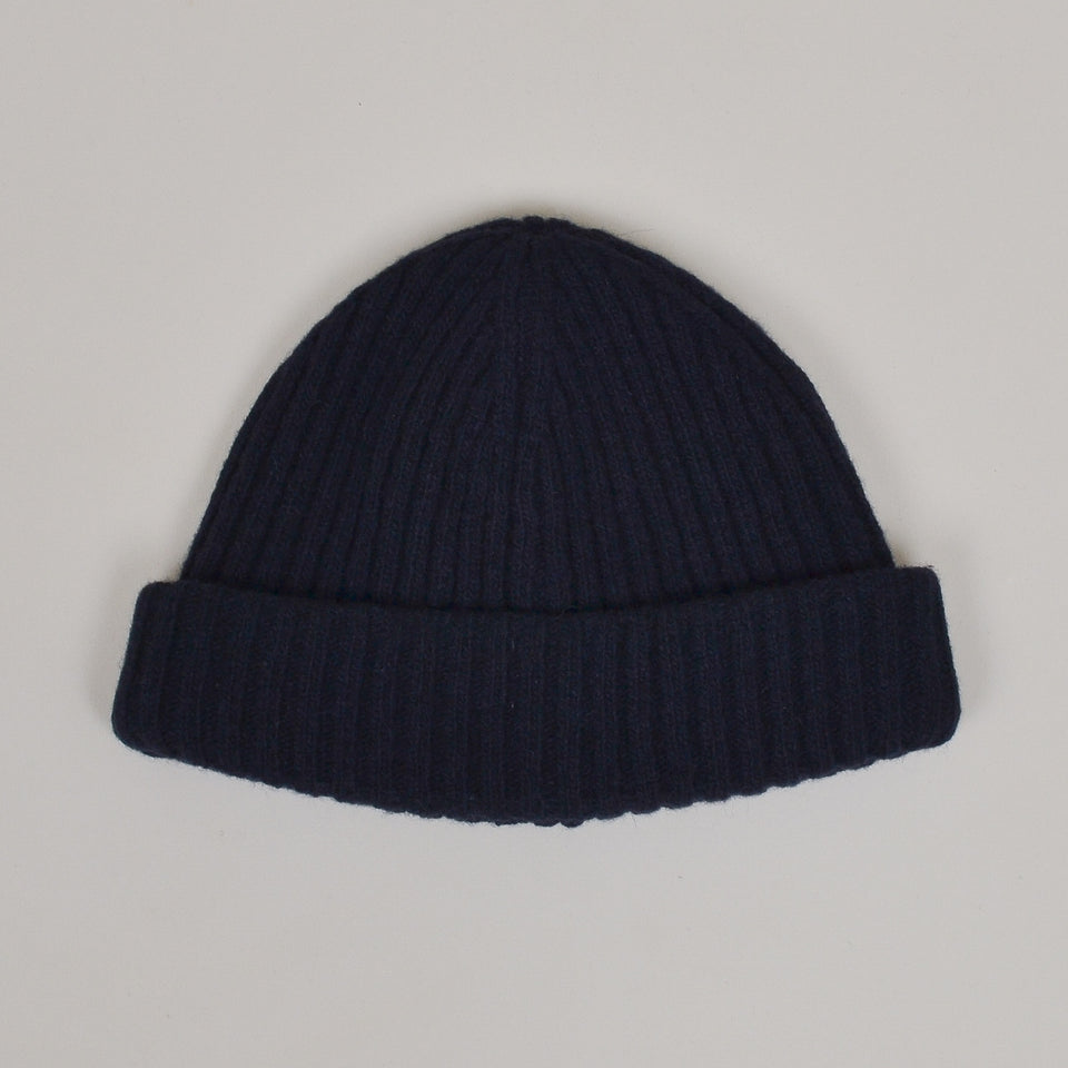 Oliver Spencer Dock Hat - Rib Navy
