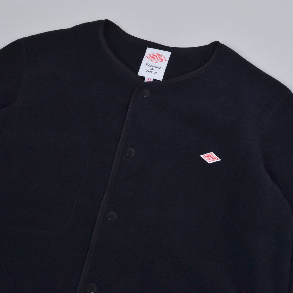 Danton Fleece Jacket JD-8939 - Black