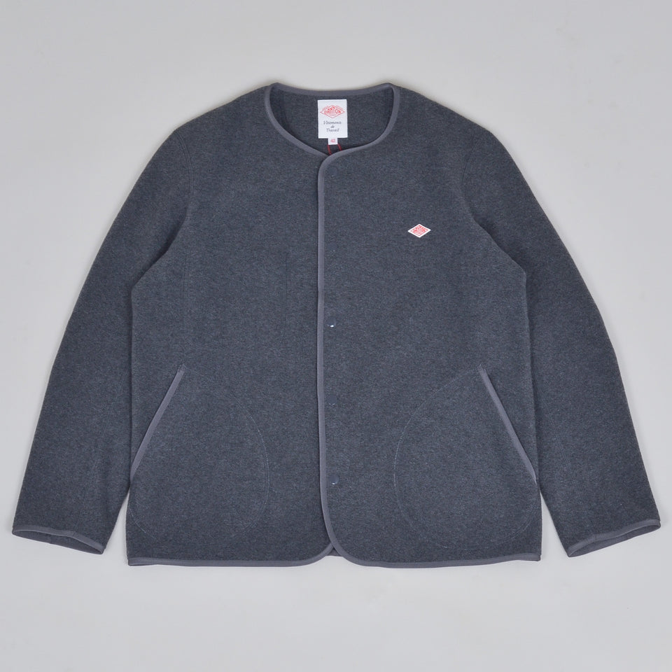 Danton Fleece Jacket JD-8939 - Heather Grey