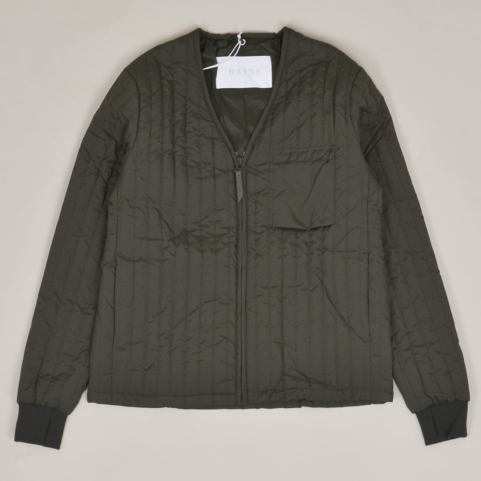 Rains Liner Jacket - Green
