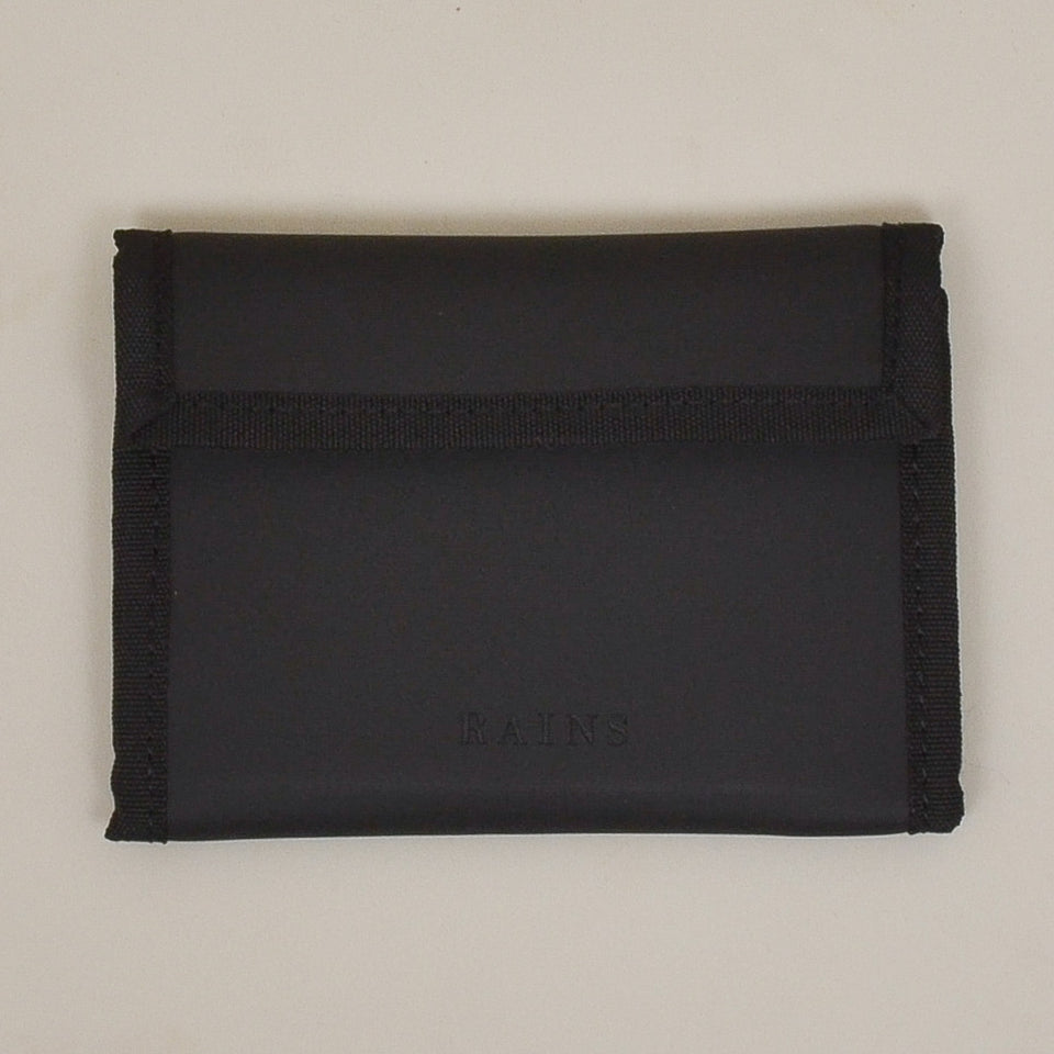 Rains Velcro Wallet - Black