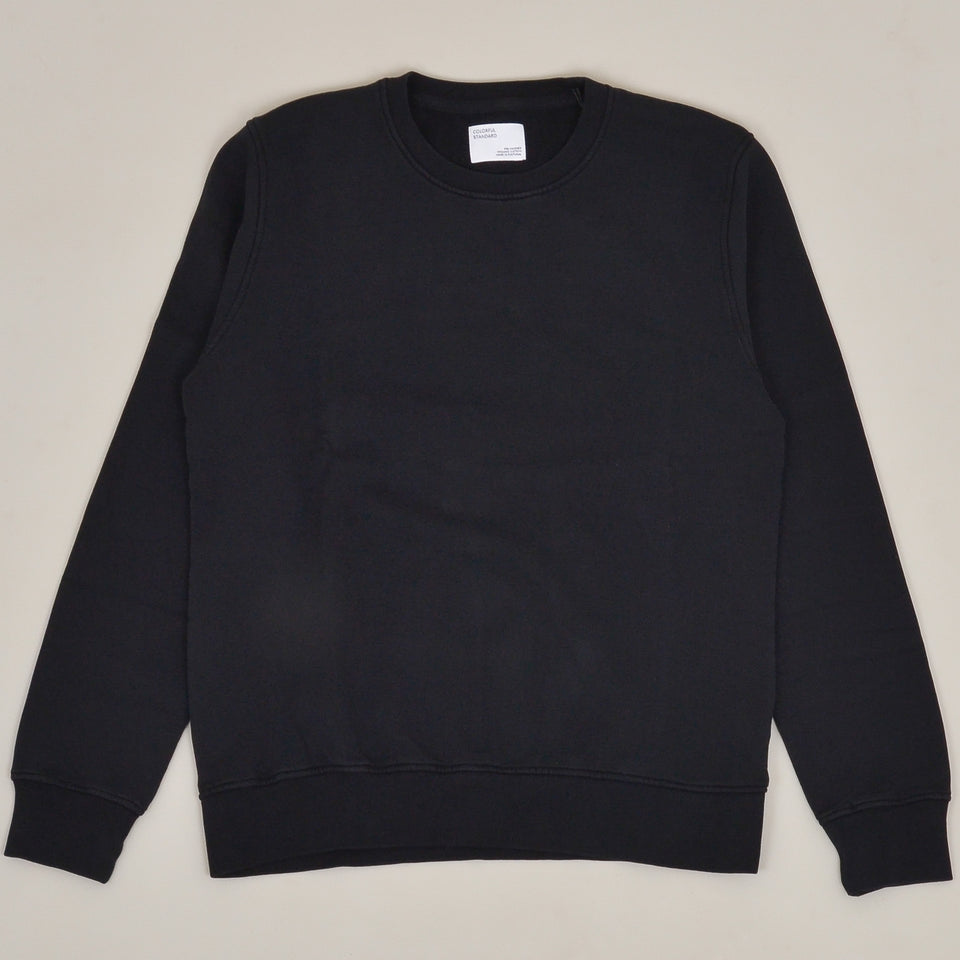 Colorful Standard Classic Organic Crew - Deep Black