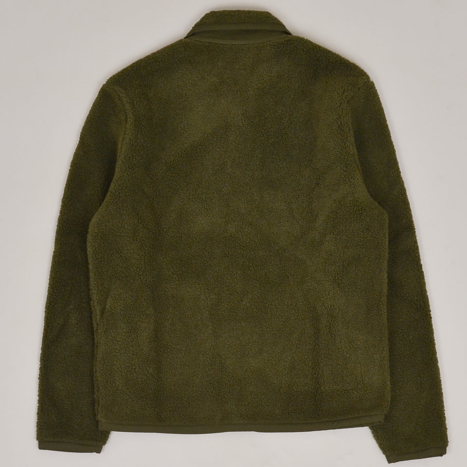 Universal Works Lancaster Jacket Mountain Fleece - Olive