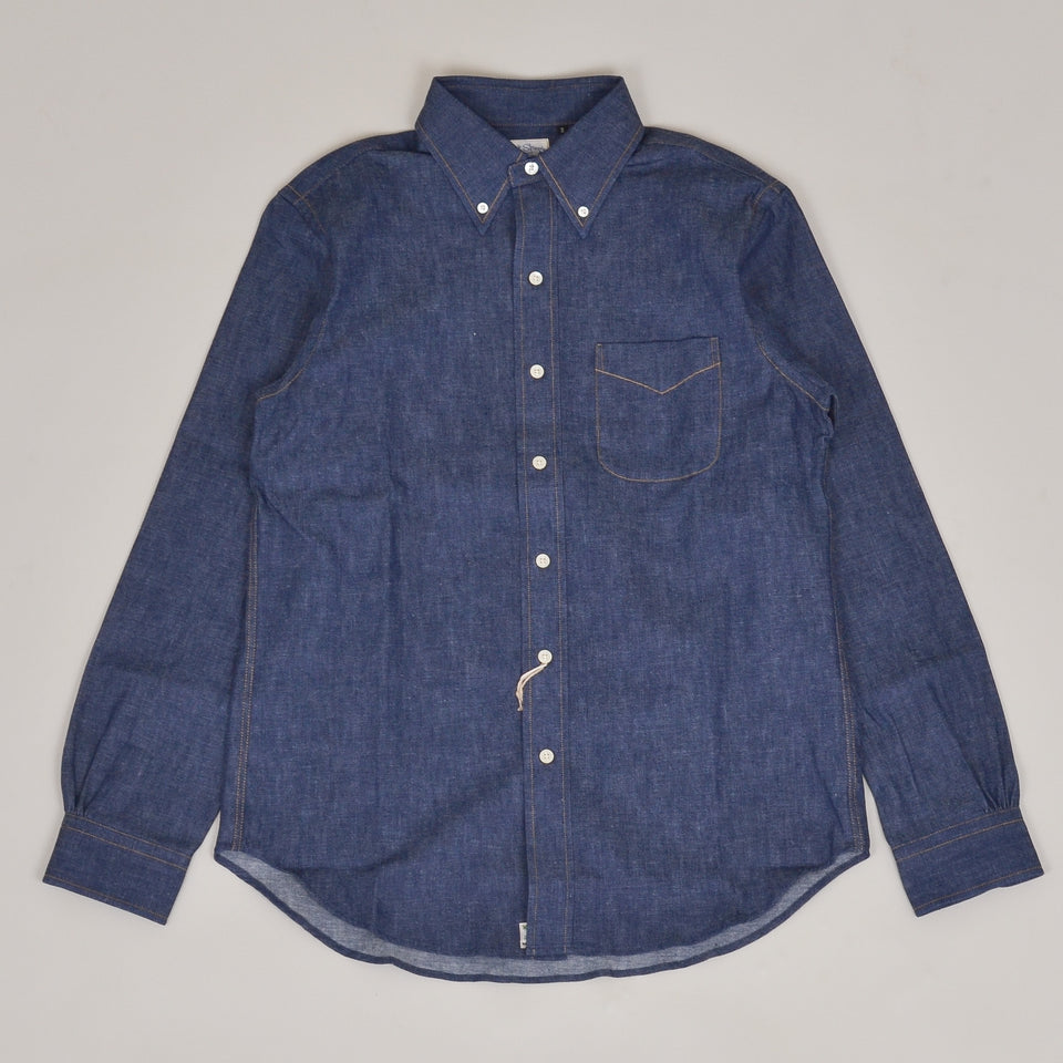 Orslow Button Down Shirt - Rigid