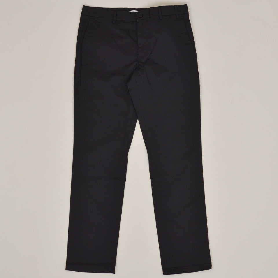 Norse Projects Aros Slim Light Stretch - Black