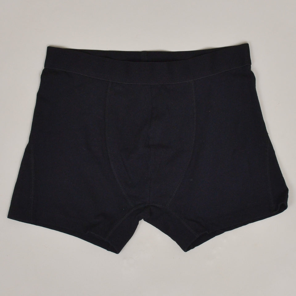 Colorful Standard Classic Organic Boxer Briefs - Deep Black