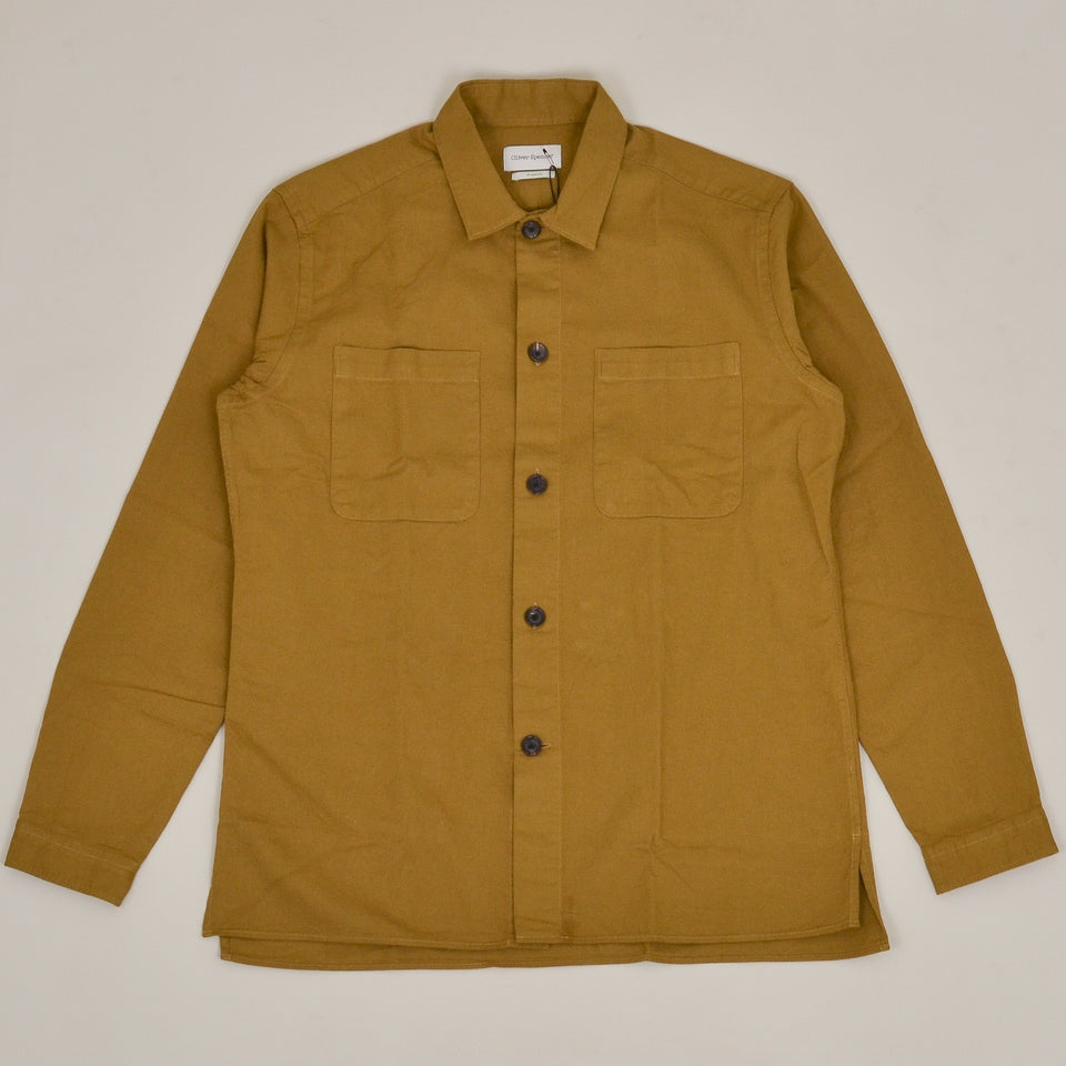 Oliver Spencer Eltham Shirt - Ochre