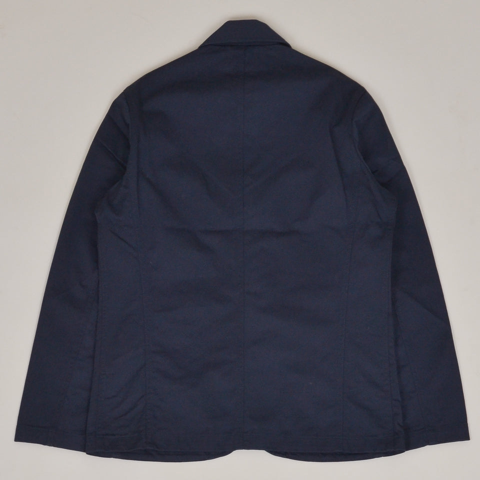 Universal Works Bakers Jacket Twill - Navy