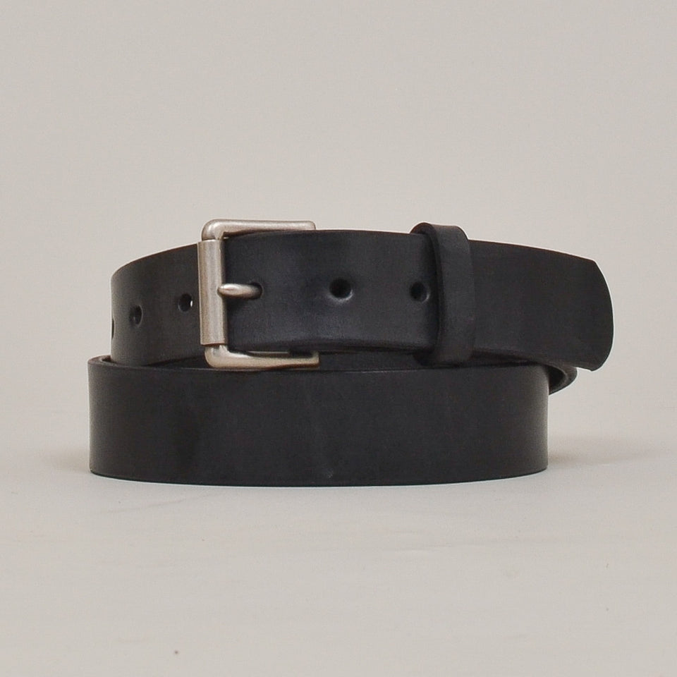 Barnes & Moore Roller Belt - Black/Nickel