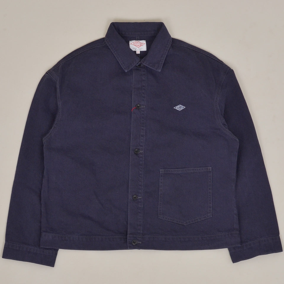 Danton Work Jacket JD-8117 - French Blue