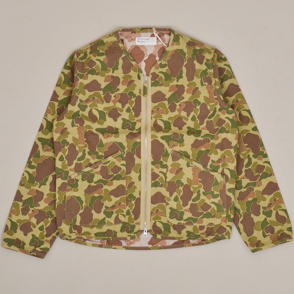 Universal Works Military Liner Jacket  - Jungle