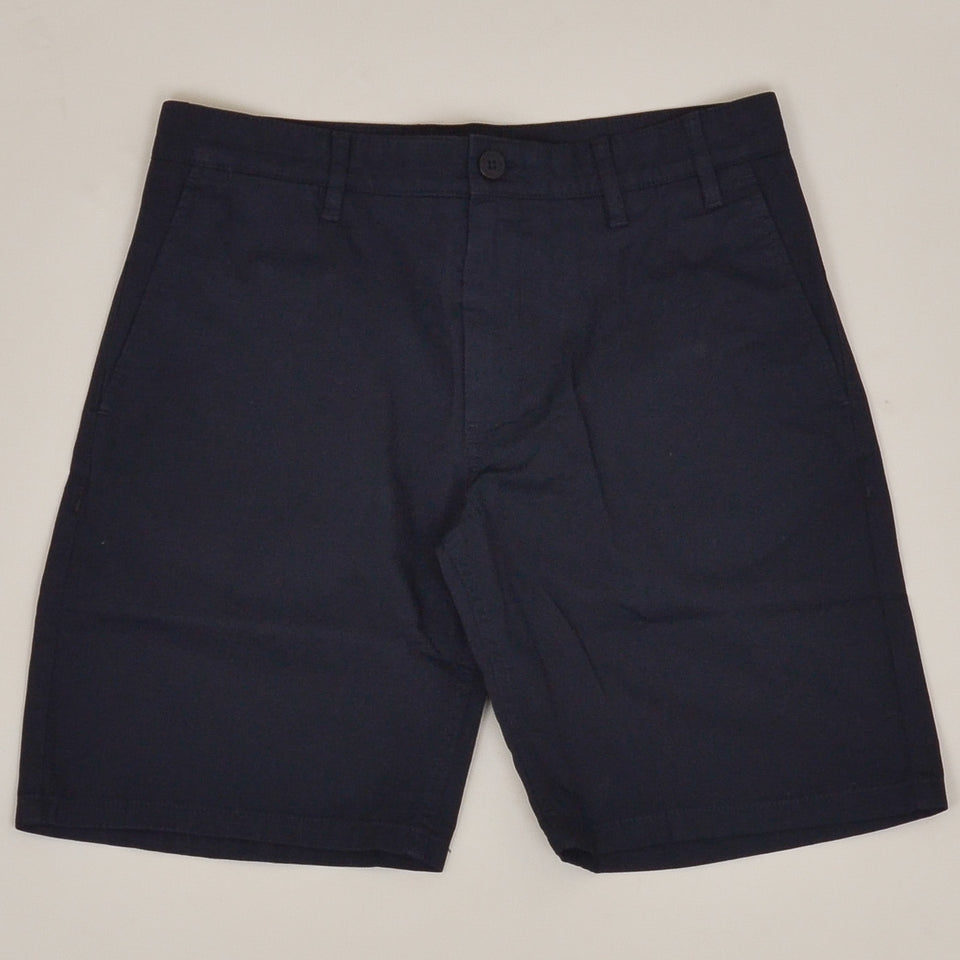 Norse Project Aros Light Twill Shorts - Dark Navy