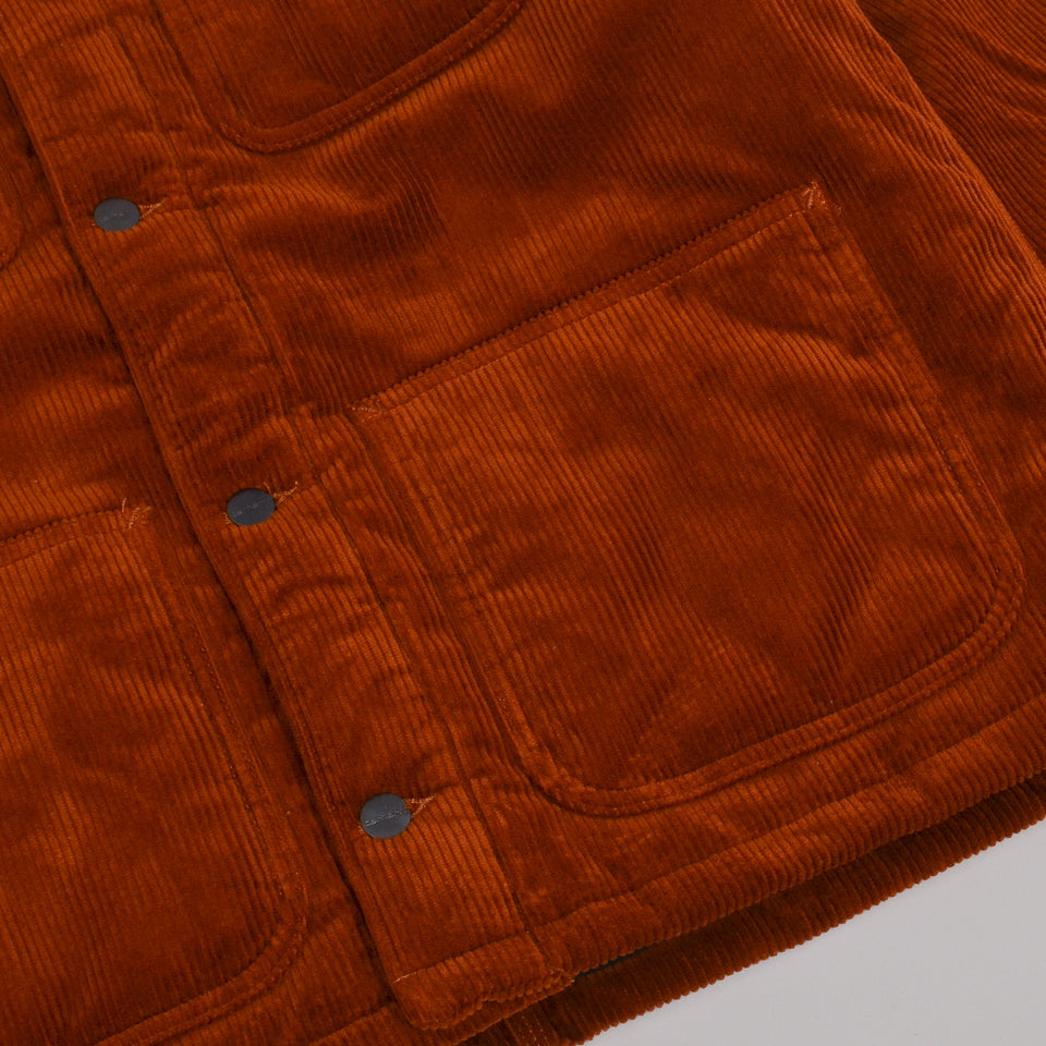 Carhartt WIP Michigan Coat Corduroy - Brandy Rinsed