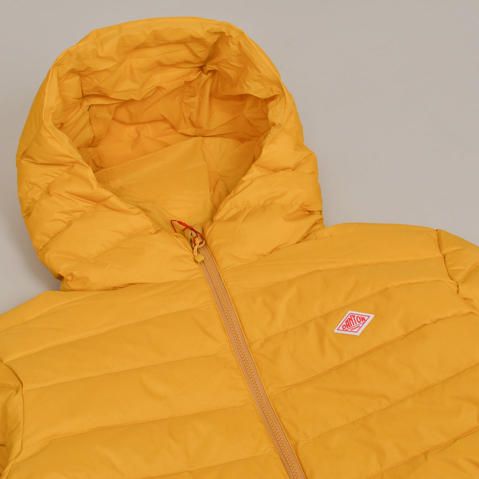 Danton Hooded Down Jacket JD-8032 - Mustard