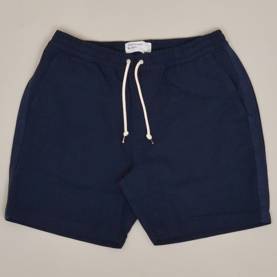 Universal Works Beach Short Canvas - Navy