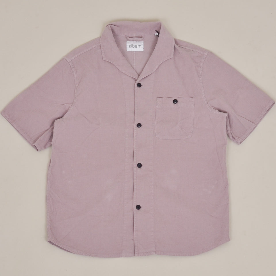 Albam Miles Shirt SS - Faded Mauve