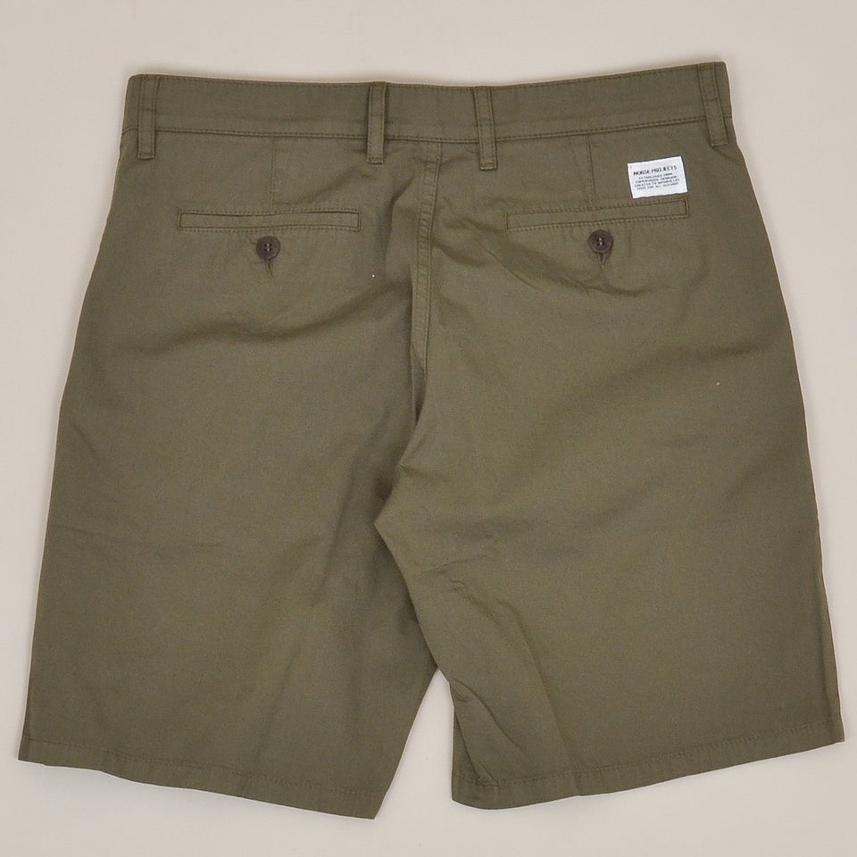 Norse Project Aros Light Twill Shorts - Ivy Green