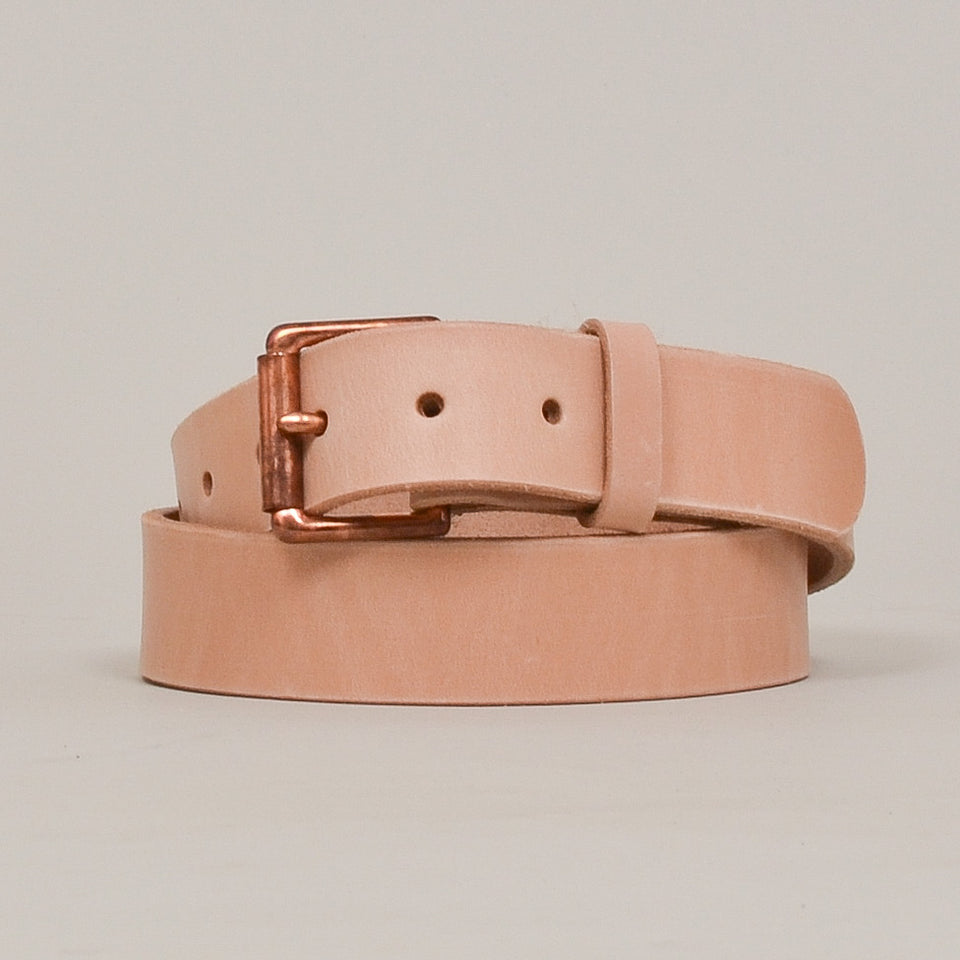 Barnes & Moore Roller Belt - Natural/Copper