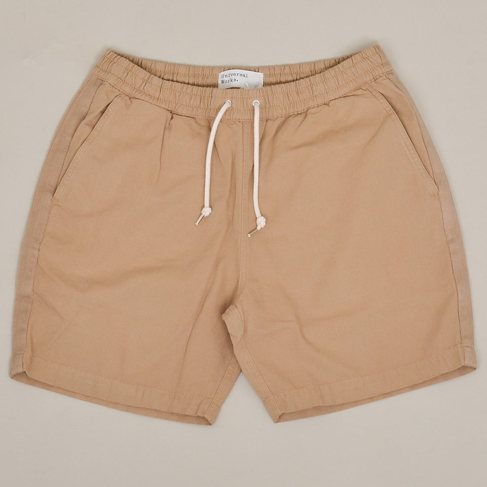Universal Works Beach Short Canvas - Sand