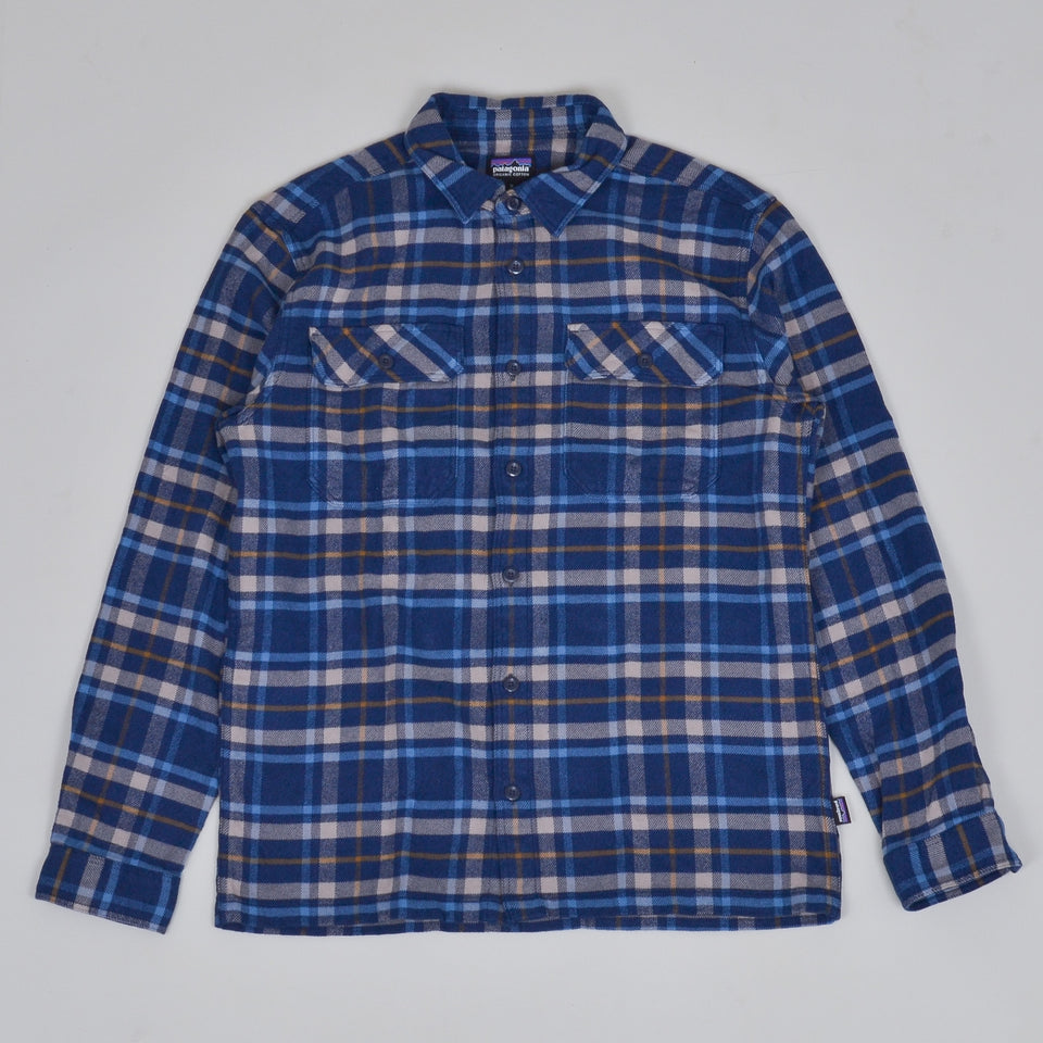 Patagonia Fjord Flannel Shirt - New Navy